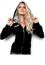 JT WOMENS HOODIE OVAL PATCH